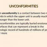 2 UNCONFORMITIES