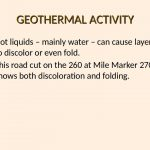 25 GEOTHERMAL ACTIVITY