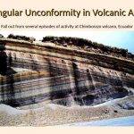 9 Angular Unconformity in Volcanic Ash