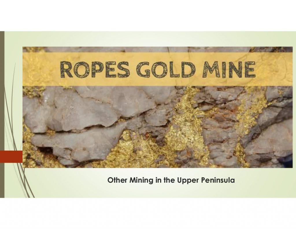 38 Rock Hounding - Upper Peninsula